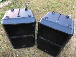 2x Zeck Vector T3A Boxen, schwarz, aktiv