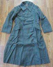 WWII GERMAN M42 M1942 WOOL OVERCOAT GREATCOAT- SIZE IV