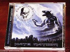 Predatory Violence: Hate Nation CD 2010 Killer Metal Recs Germany KMR-CD005 NEW