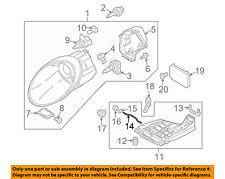PORSCHE OEM 05-13 911 Headlight Head Light Lamp-Rod 99763127301