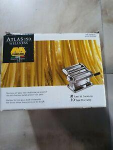 Marcato Atlas 150 Wellness - Manual Pasta Machine - MADE IN ITALY .NEW