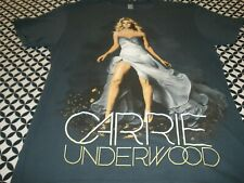 "2 Sided ""The Blown Away Tour"" Carrie Underwood Concert T~Shirt Sz Small T1268"