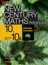 New Century Maths for the Australian Curriculum Advanced 10+10A by Sarah Hamper,