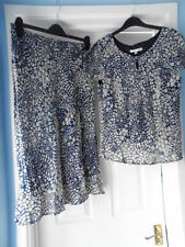 Viscose Floral Top Suits & Tailoring for Women with 2 Pieces