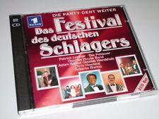 Le festival du allemand Hits 2 CD 's 2003 presque comme neuf Achim reichel (yz)