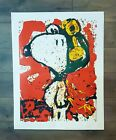 """Snoopy To Remember Canvas Print 24"""" x 32"""" Tom Everhart"""