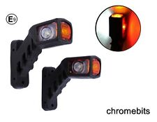 2X 12/24 VOLT RECOVERY SIDE MARKER OUTLINE LED LIGHTS LAMPS TRAILER TRUCK LORRY