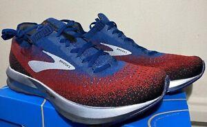 Brooks Levitate 2 Mens Sizes 8-15 Running Shoes NIB Unworn Chili/Navy/Black
