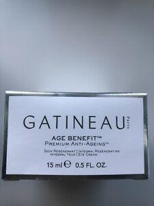 Gatineau Age Benefit Integral Regenerating Eye Cream 15ml New In Box