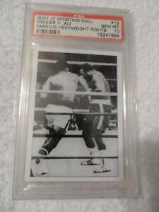 Muhammad Ali vs. Joe Frazier 2007 JF Sporting Collectibles #19 PSA 10 GEM MT