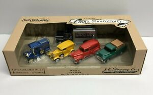 ERTL Collectibles JC PENNEY diecast set of 5 Cars 1:43 scale ** brand new