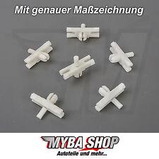 10x Coupez Fixation Klip VW GOLF I CABRIOLET JETTA I SIROCCO POLO 171853585