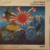 JOHN COLTRANE CONCERT IN JAPAN 1973 IMPULSE ABC AS-9246/2 GATEFOLD 2-LPs EX/VG