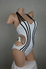 Poko Pano Marilyn Collection Swimsuit White Brand New Size Medium