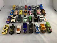 Toy Car Bundle Job Lot - Hot Wheels, Matchbox, Lesney, RealToy! X32 Cars!