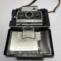 Vintage Polaroid Automatic 250 Land Camera w/ Case, Strap and manual