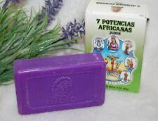 7 African Powers Spiritual Soap 3oz, (1) Protection, Fortune Santeria, Hoodoo