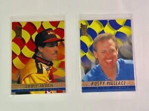 1994 Press Pass Driver's Choice #2 Ernie Irvan #9 Rusty Wallace