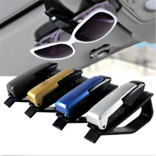 Sun Visor Sunglasses Eye Glasses Card Pen Holder Clip Car Vehicle Accessory JT