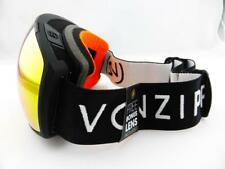 Von Zipper JETPACK Snow Goggles Black - Fire Chrome Lens + Bonus Yellow Lens