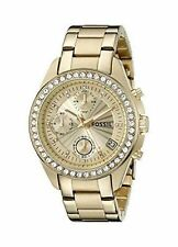 Fossil Stainless Steel Case Adult Wristwatches