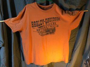 Men's Harley Davidson Vintage Thunder Creek Graphic T-Shirt XL Tennessee