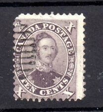 British Canada 1859 10c Prince Albert fine used (possible SG33) WS18106