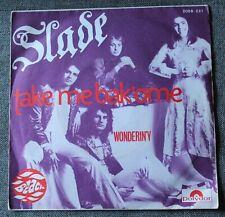 Slade, take me bak'ome / wonderin'y, SP - 45 tours France