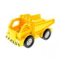 1x Lego Duplo LKW gelb Kipper Laster Auto Lastwagen 4210613 4207819 47540c01
