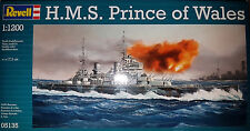 H.M.S. Prince of Wales - Corazzata - Revell Kit 1:1200 - 05135 - Nuova