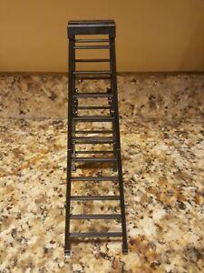 """WWF WWE Jakk's Wrestling Black 10"""" Ladder Accessory"""
