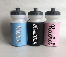 Personalised QUADRA 500ml Bottiglia D'acqua E titolare (inglese)