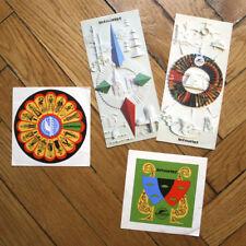 INTOURIST USSR Set Of 2 Tourism Brochures & 2 LUGGAGE LABELS. 80-es
