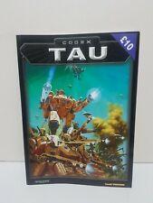 Codex Tau Rulebook Games Workshop Warhammer 40k (3rd Edition - 2001)