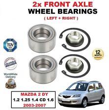 für Mazda 2 1.2 1.25 1.4 CD 1.6 2003-2007 vorne links & rechts Rad Kugellager