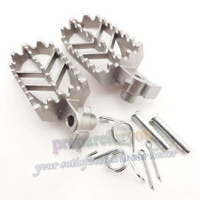 Stainless Steel Foot Rest Pegs Footpegs For CRF50 XR50 CRF70 Pit Dirt Trail Bike