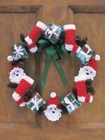 christmas wreath crochet pattern 99p