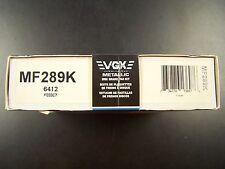 VGX MF289K New Front Brake Pads Kit fits Grand Am Skyhawk Cavalier Cutlass Omega