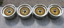 ❤️❤️4 BBS MAHLE CROSS SPOKE ALLOY WHEELS BMW 7x14 5x120 OEM E3 E9 E12 E23 E24