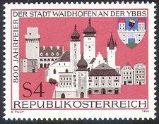 Austria 1986 Waidhofen/Buildings/Architecture/Towers/Church 1v (n33657)