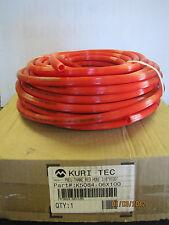"KURI TEC K5084-06X100 K508406X100 PNEU-THANE RED HOSE 3/8"" I.D. 100' LENGTH NIB"