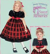 2005 Daisy Kingdom Dress Capelet Pattern 5-8 Simplicity 4513 OOP
