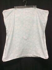 Pillow Shams EURO Martha Stewart Blue White Floral Set Of 2 Country Coastal P4