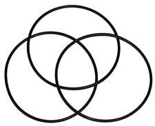 (3 Pack) O-Rings for Whirlpool WHKF-DWHBB & American Plumber W10-PR Filter
