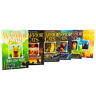 Warrior Cats Series 1 Prophecies Begin 5 Books Young Adult Set By Erin Hunter
