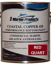 Coastal Copper 450 Multi-Season Ablative Antifouling Bottom Paint Red Quart