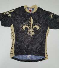 World Ladies Fleur Di Lis Cycling Jersey  Extra Large