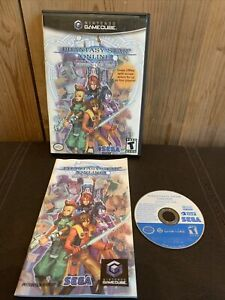 CIB Phantasy Star Online: Episode I & II Plus Nintendo GameCube 2004 Complete