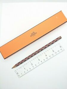 Hermes Paris Arlequin leather weave pencil