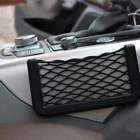 200x80mm Auto Rücksitz Halter Netz Organizer elastische Schnur Tasche